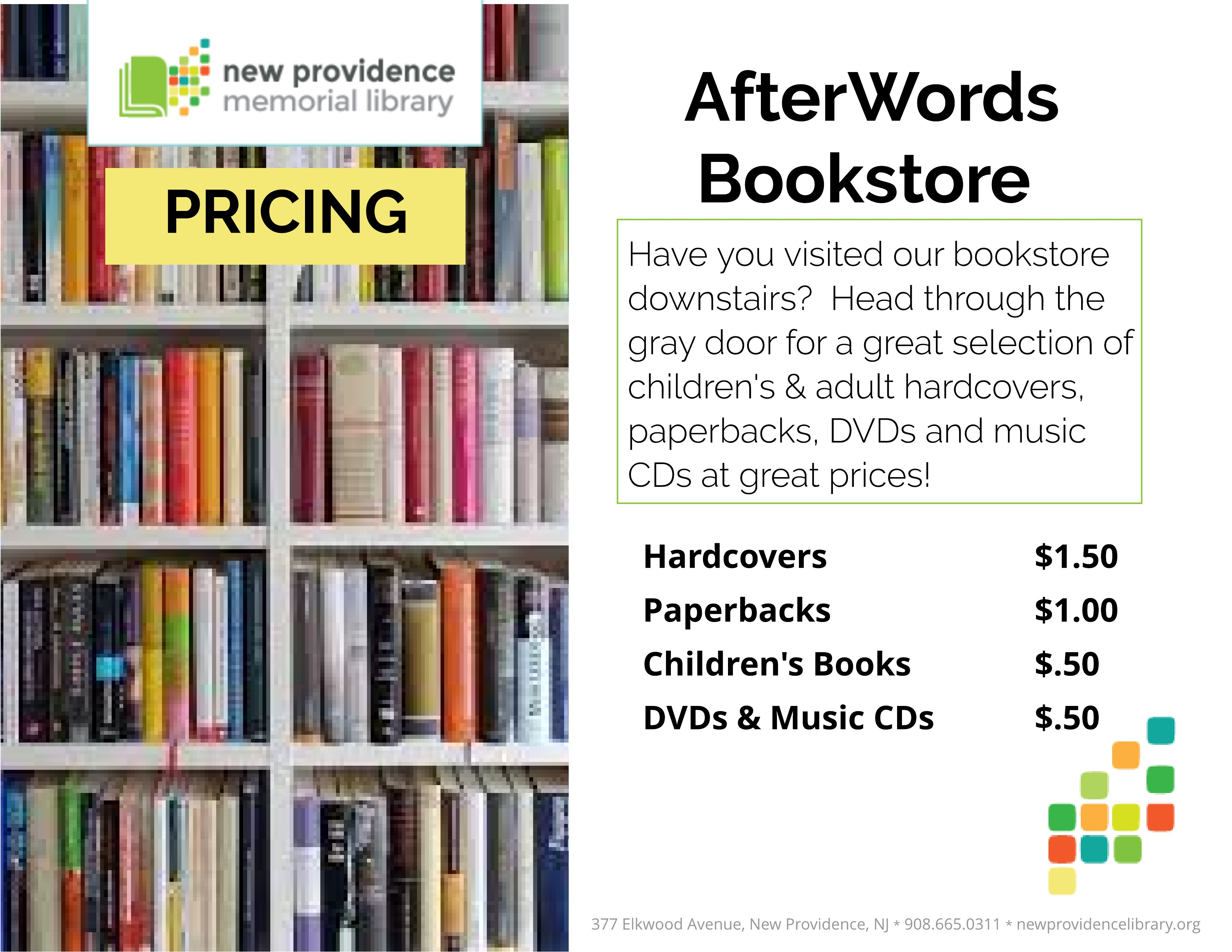 AfterWords pricing