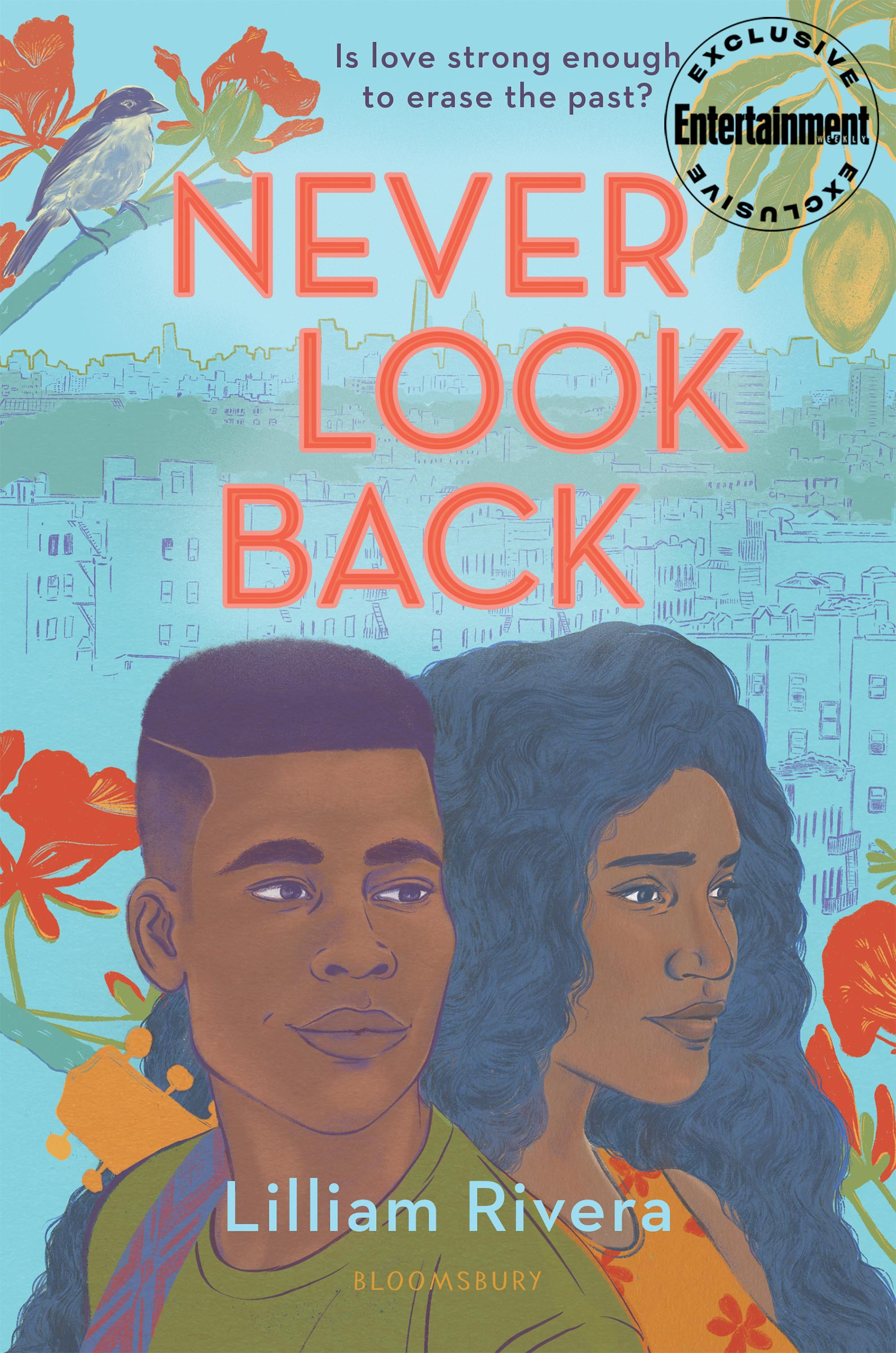 Never Look Back by Lilliam Rivera CR: Bloomsbury