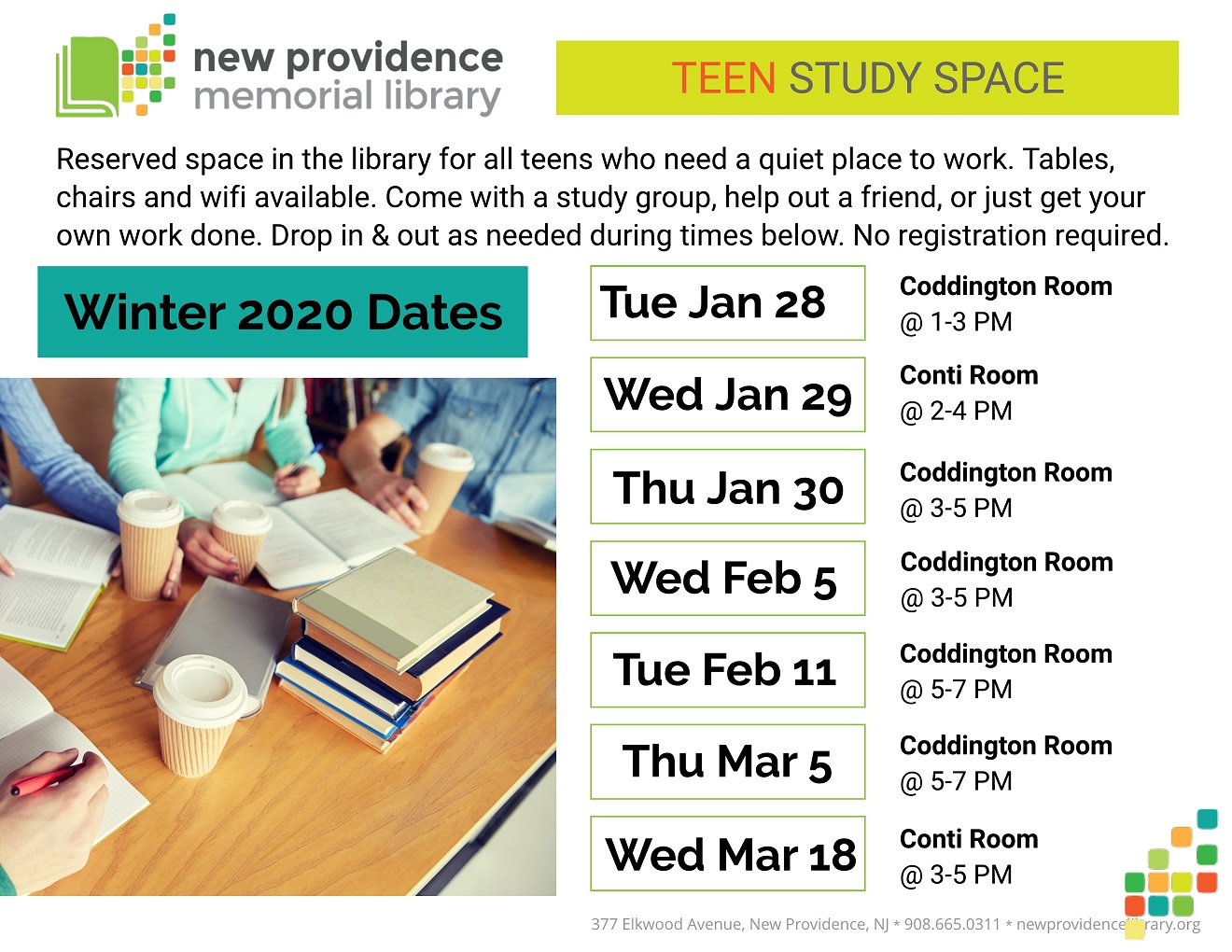 WINTER Teen Study Space sm